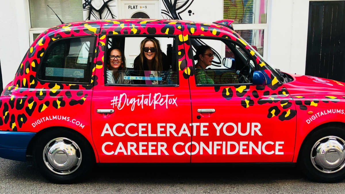 Digital Mums Grab a seat - and the popcorn - for the launch of our Digital Retox #Talkshowtaxi