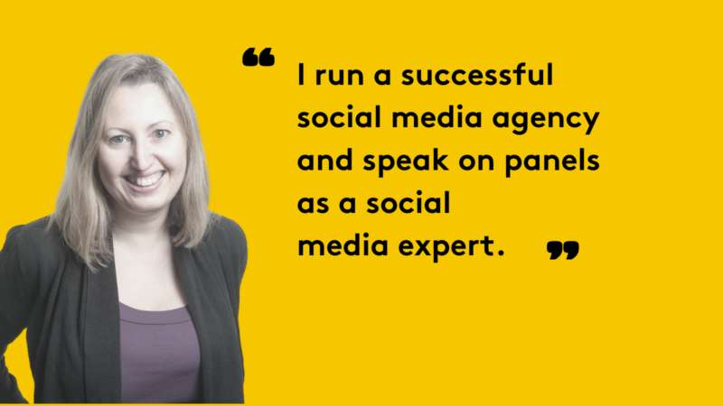 "Digital Mums ""I really enjoy working in social media and the fact that no two days are the same with platforms that change every day, keeping me on my toes"""