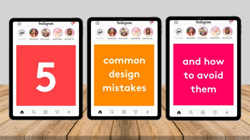 Digital Mums 5 common design mistakes and how to avoid them