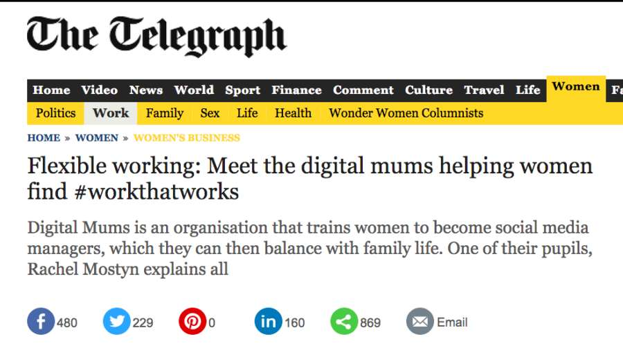 Digital Mums Digital Mums enters the Terrible Twos