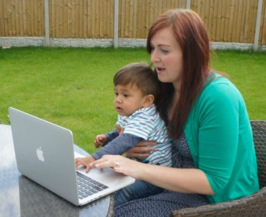 "Digital Mums ""I retrained with Digital Mums while on maternity leave"""